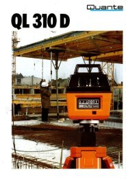Page 1 Page 2 Cost-efficient (Il 310 D levelling System. ° ° ' O eralin ...