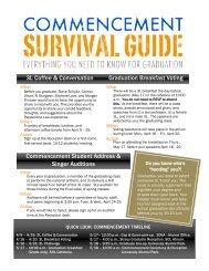 Commencement Survival Guide - Pepperdine University School of ...