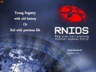 RNIDS – 5 years of activities