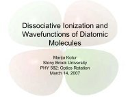 Dissociative Ionization and Wavefunctions of Diatomic Molecules