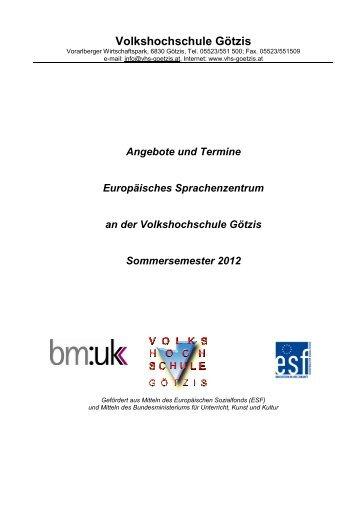 ANGEBOT-TERMINE Sprachenzentrum SS12.ALLE