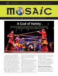 MOSAIC Issue 8 - StoneWorks: A Global Arts Initiative