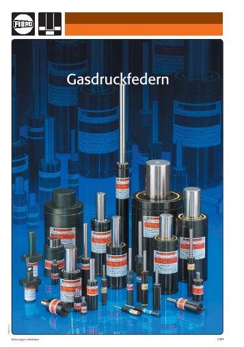 Gasdruckfedern