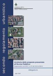 Allegato A - Istruttorie delle proposte - Unione dei Comuni del ...