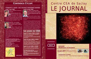 Journal de Saclay n°27 - CEA Saclay