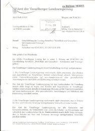 Amt der Vorqrlberger Landesregierung