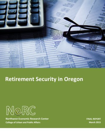 Retirement Security Final Report