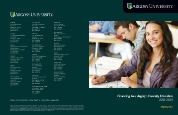 Financing Your Argosy University Education