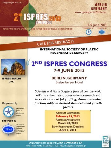 2nd ISPRES CONGRESS 7-9 June 2013 Berlin, Germany