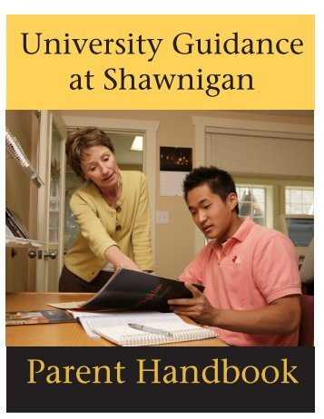 Parent Handbook - Shawnigan Lake School