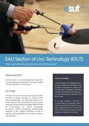 ESUT - European Association of Urology