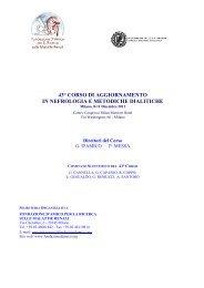 43° Corso di Aggiornamento in Nefrologia e metodiche dialitiche - SIF
