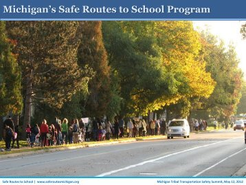 Michigan's Safe Routes to School Program