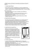 MONTĀŽAS UN EKSPLUATĀCIJAS INSTRUKCIJA - Page 4