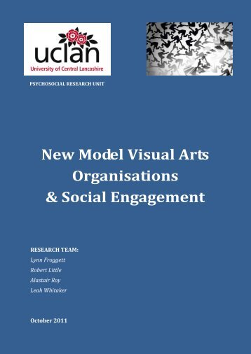New Model Visual Arts Organisations & Social ... - Arts & Health