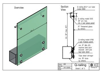 Q-railing - Morse Industries