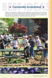 Community Involvement - America in Bloom