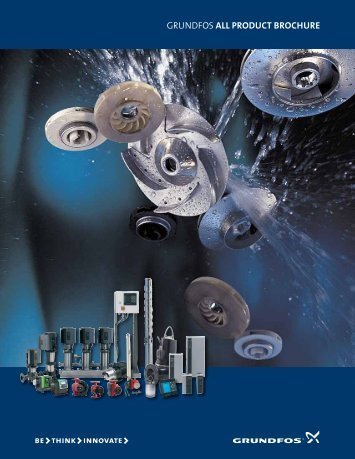 Pumps for all purposes - Grundfos