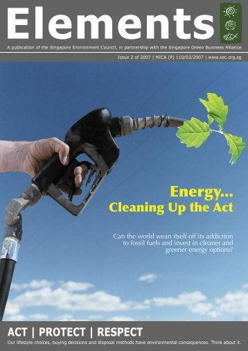 Clean energy act - Singapore Environment Council