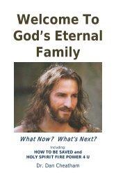 Welcome To God's Eternal Family - FaithSite.com