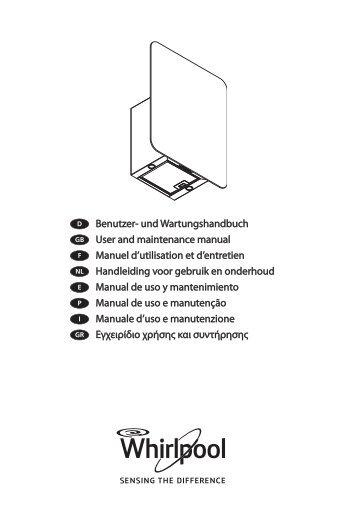 Benutzer- und Wartungshandbuch User and ... - Whirlpool