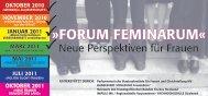 FORUM FEMINARUMÂ« - IMPULS MV
