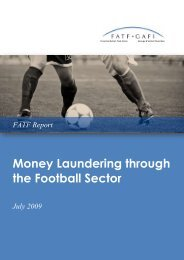 FATF - Money Laundering through the Football Sector