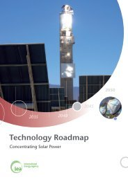 Technology Roadmap - Concentrating Solar Power - International ...
