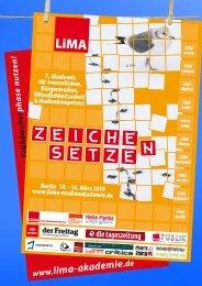 Programmheft zum downloaden (PDF, 4 MB) - LiMA – Akademie für ...