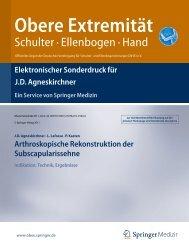 Elektronischer Sonderdruck für Ein Service von Springer Medizin ...