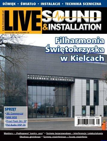 Live Sound & Installation, kwiecień 2012 - UlubionyKiosk