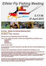 EFFA Werbeblatt 2013 - Der Fliegen-Shop