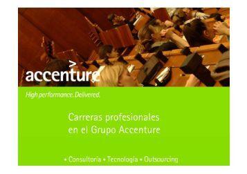 Carreras profesionales en el Grupo Accenture - UGR Empleo 2.0