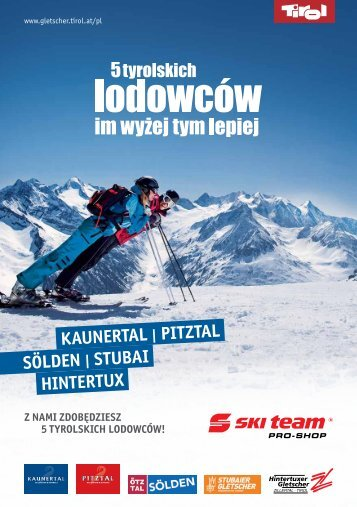 Sölden   Stubai Hintertux Kaunertal   Pitztal - Tyrol