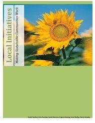 Local Initiatives - Climateknowledge.org