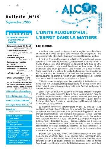 bul 19.pdf - Institut Alcor