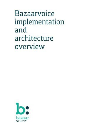 Implementation and architecture overview - Conversations