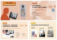 Aiphone Tertiaire Solutions : le système IS - AMS Technologies