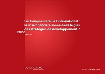 Les banques retail à l'international - Eurogroup Consulting