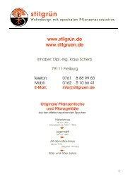 Katalog-Stilgrün 2011 Blumentische bis 1950 Teil 1