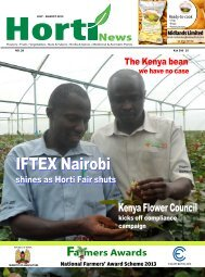 to download the July - August 2013 Magazine Issue - Hortinews.co.ke