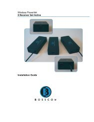 Wireless Powerlink II Receiver Set Active Installation Guide ...