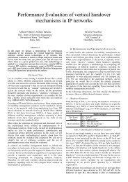 Performance Evaluation of vertical handover mechanisms in IP ...