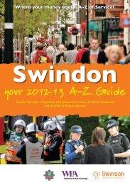 your 2012-13 A-Z Guide - Swindon Borough Council