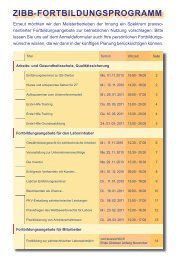 ZIBB-FORTBILDUNGSPROGRAMM - Zahntechniker-Innung Berlin ...