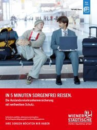 Kundeninformation TOP MED Reise mit ... - Wiener Städtische