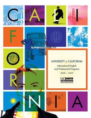 2008 ~ 2009 - UC Davis Extension
