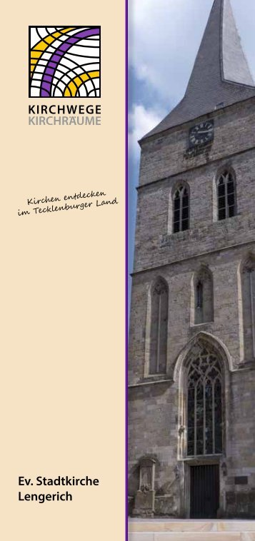 Flyer Ev. Stadtkirche Lengerich
