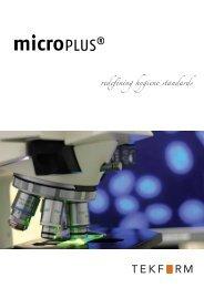 MicroPLUS Antibacterial Protection - Tekform