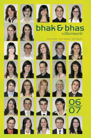 Jahresbericht 2006/07 - schule Völkermarkt